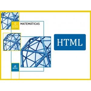 Matemáticas Aplicadas 4º ESO (HTML)