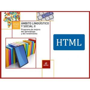 PMAR - Ámbito Lingüístico y Social II (HTML)