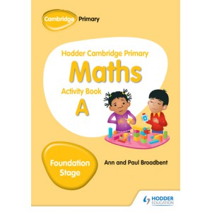 Hodder Cambridge Primary Maths Activity Book A Foundation Stage