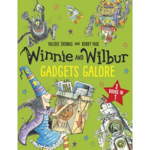 Winnie and Wilbur Gadgets Galore and other stories