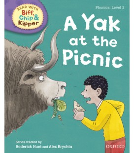 Read with Biff, Chip and Kipper Phonics: Level 2: A Yak at the Picnic