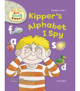 Read with Biff, Chip and Kipper Phonics: Level 1: Kipper's Alphabet I Spy