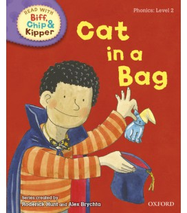 Read with Biff, Chip and Kipper Phonics: Level 2: Cat in a Bag