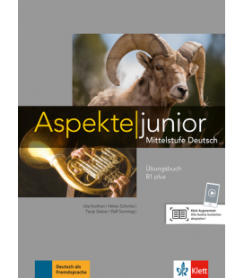 Aspekte junior B1 plus Übungsbuch