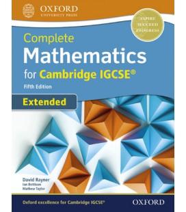 Mathematics for Cambridge IGCSE Extended