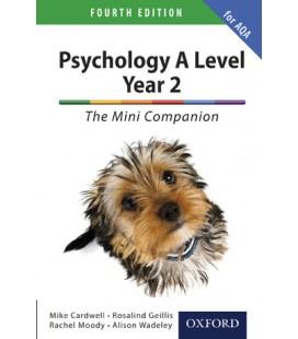 Psychology A Level Year 2: The Mini Companion for AQA