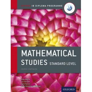 Oxford IB Diploma Programme: Mathematical Studies Standard Level Course Companion