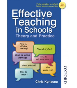 Effective Teaching in Schools Theory and Practice