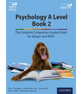 Psychology A Level Book 2: The Complete Companion Student Book for Eduqas and WJEC
