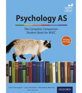 Psychology AS: The Complete Companion Student Book for WJEC Eduqas