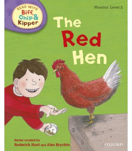 Read with Biff, Chip and Kipper Phonics: Level 2: The Red Hen