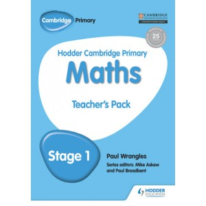 Hodder Cambridge Primary Maths Teacher's Pack 1