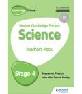 Hodder Cambridge Primary Science Teacher's Pack 4