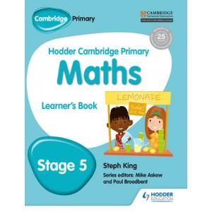 Hodder Cambridge Primary Maths Learner's Book 5