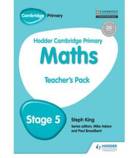 Hodder Cambridge Primary Maths Teacher's Pack 5