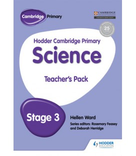 Hodder Cambridge Primary Science Teacher's Pack 3