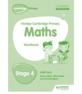 Hodder Cambridge Primary Maths Workbook 4
