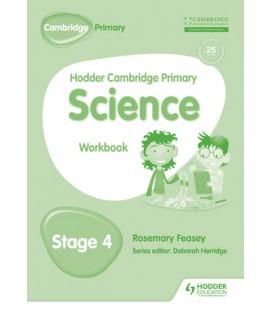 Hodder Cambridge Primary Science Workbook 4