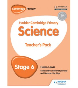 Hodder Cambridge Primary Science Teacher's Pack 6