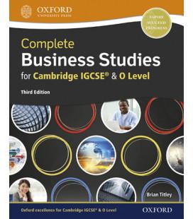 Complete Business Studies for Cambridge IGCSE & 0 Levels